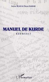 Manuel de kurde ; kurmanci - Couverture - Format classique