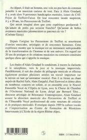 Les Percussions De Treffort ; 20 Ans De Creation - 4ème de couverture - Format classique