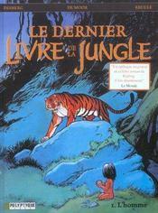 Le dernier livre de la jungle t.1 ; l'homme - Intérieur - Format classique
