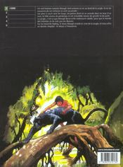 Le dernier livre de la jungle t.1 ; l'homme - 4ème de couverture - Format classique