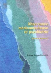 Observance medicamenteuse et psychiatrie - Couverture - Format classique