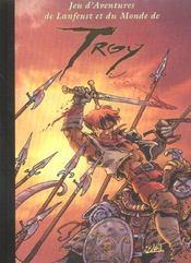 Lanfeust de Troy ; jeu d'aventures de Lanfeust et du monde de Troy - Intérieur - Format classique
