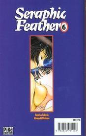 Seraphic feather t.6 - 4ème de couverture - Format classique