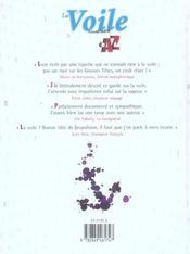 La Voile Illustree De A A Z - 4ème de couverture - Format classique