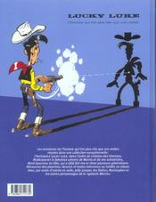 Lucky Luke ; intégrale t.15 - 4ème de couverture - Format classique