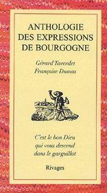 Anthologie des expressions de Bourgogne - Couverture - Format classique