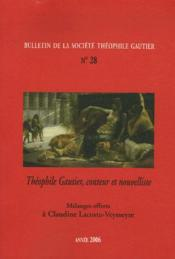 Bulletin de la société théophile gautier t.28 - Couverture - Format classique