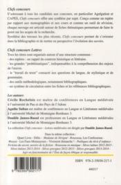 Le roman de la rose de Guillaume de Lorris - 4ème de couverture - Format classique