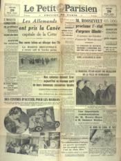 Petit Parisien Edition De Paris (Le) du 29/05/1941 - Couverture - Format classique