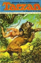 Tarzan - Le Seigneur De La Jungle - Mensuel N°53 - Couverture - Format classique