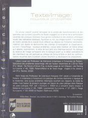 Texte/Image: Nouveaux Problemes - 4ème de couverture - Format classique