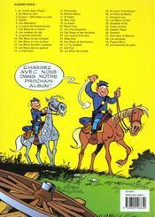 Les tuniques bleues t.8 ; les cavaliers du ciel - 4ème de couverture - Format classique