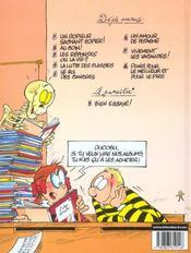 L'élève Ducobu t.1 ; un copieur sachant copier ! - 4ème de couverture - Format classique