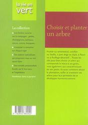 Taillez tous vos arbres - 4ème de couverture - Format classique