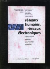 Reseaux humains, reseaux electroniques - Couverture - Format classique