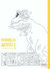 Stanislas-Archives 1 - 4ème de couverture - Format classique
