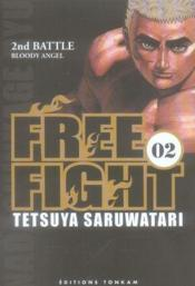 Free fight t.2 ; 2nd battle, bloody angel - Couverture - Format classique