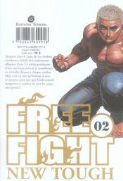 Free fight t.2 ; 2nd battle, bloody angel - 4ème de couverture - Format classique