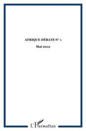 Afrique Debats 1 - Couverture - Format classique