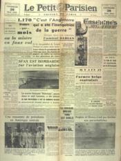 Petit Parisien Edition De Paris (Le) du 30/05/1941 - Couverture - Format classique