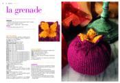 Fruits et légumes au tricot - Couverture - Format classique
