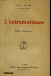 L'Entremetteuse. - Couverture - Format classique