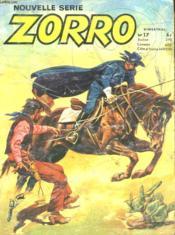 Nouvelle Serie Zorro - N°17 - Couverture - Format classique