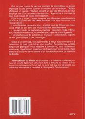 Vaincre Et Dominer Le Trac - 4ème de couverture - Format classique