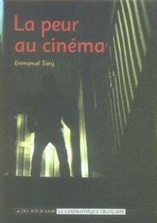 La Peur Au Cinema - Intérieur - Format classique