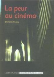 La Peur Au Cinema - Couverture - Format classique