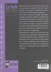 Foule Mythes Et Figures De La Revolution A Aujourd Hui. - 4ème de couverture - Format classique