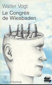 Congres De Wiesbaden (Le) Ps78 - Couverture - Format classique