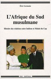 L'Afrique du sud musulmane - Couverture - Format classique
