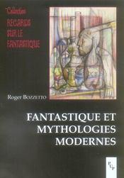 Fantastique et mythologies modernes - Intérieur - Format classique