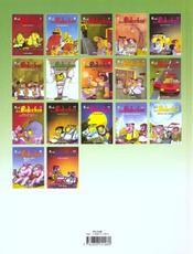 Les Bidochon T.9 ; Les Fous Sont Laches - 4ème de couverture - Format classique