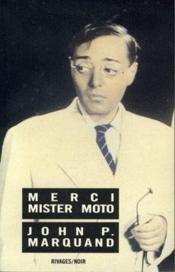 Merci Mister Moto - Couverture - Format classique