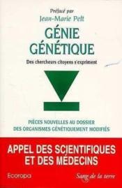 Genie genetique - Couverture - Format classique