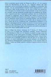 Armees et societes de la grece classique - 4ème de couverture - Format classique