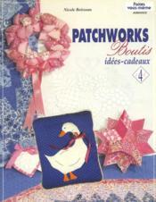 Patchworks Boutis - Idees Cadeaux - Couverture - Format classique