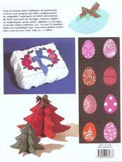Patchworks Boutis - Idees Cadeaux - 4ème de couverture - Format classique