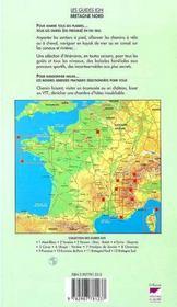 Bretagne nord ; côtes d'Armor et Finistère t.1 ; à pied, à vtt, en kayak - 4ème de couverture - Format classique