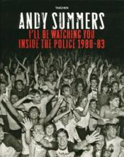 Andy Summers Watching You - Couverture - Format classique
