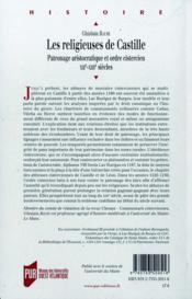 Les religieuses de Castille - 4ème de couverture - Format classique
