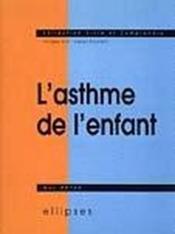 L'Asthme De L'Enfant - Couverture - Format classique
