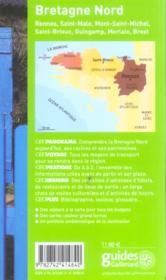 Geoguide ; Bretagne Nord (édition 2005/2006) - 4ème de couverture - Format classique