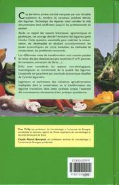 Technologie des legumes (coll. staa) - 4ème de couverture - Format classique