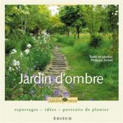 Jardin d'ombre - Couverture - Format classique