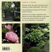Jardin d'ombre - 4ème de couverture - Format classique