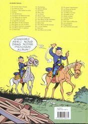 Les tuniques bleues t.10 ; des bleus et des tuniques - 4ème de couverture - Format classique