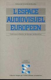 L'Espace Audiovisuel Europeen - Couverture - Format classique